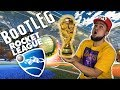 PLAYING BOOTLEG ROCKET LEAGUE! WINNING THE 4X4 SOCCER WORLD CUP! LAST SECOND GOAL VS MEXICO IN FINAL