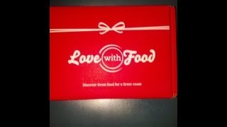 Love With Food Unboxing| March 2013 Thumbnail