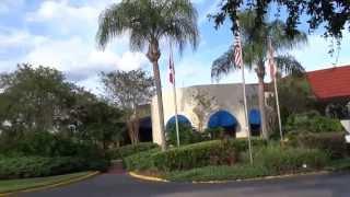 Maingate Lakeside Resort (Kissimmee, Florida) - Walking around Hotel grounds/Pool/Room in HD 1080P