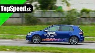 Test VW Golf 7 R 300 (2015) TopSpeed.sk