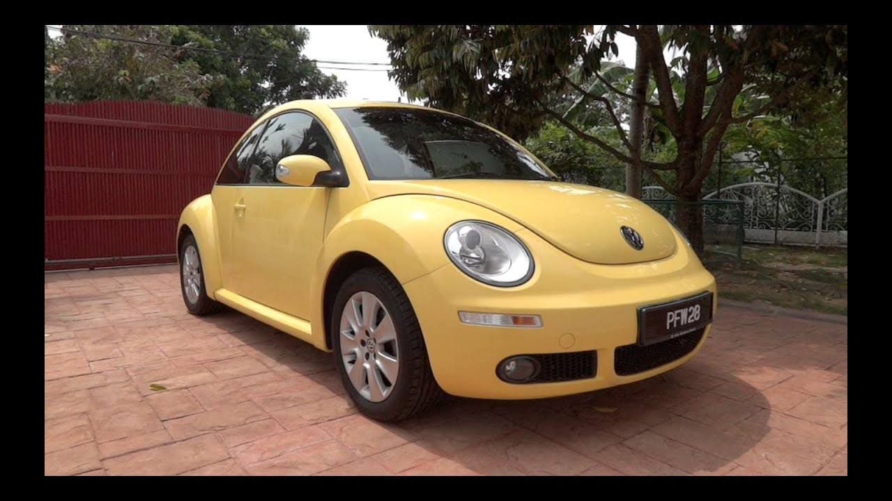 2010 volkswagen beetle 1 6 start up and full vehicle tour. Black Bedroom Furniture Sets. Home Design Ideas