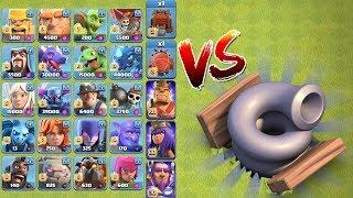 ALLE TRUPPEN vs TORNADOFALLE! ☆ Clash of Clans ☆ Oktober Update! ☆ CoC
