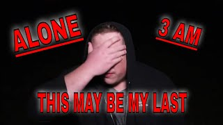 (30 Min ALONE Challenge) ABANDONED FARM HOUSE ROB'S TURN  ENTER THE HEART OF DARKNESS ALONE