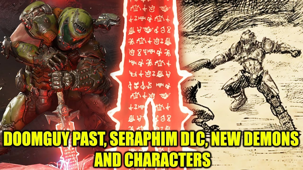 Doom Eternal Dlc Teaser Seraphim Past Doomguy Origin New