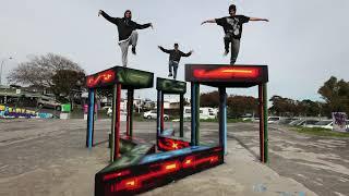 Avondale Pavilion Project: Berst (Stop Motion)