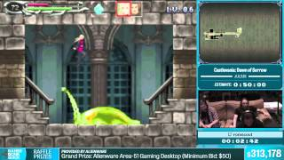 Castlevania: Dawn of Sorrow by romscout in 38:27 - Summer Games Done Quick 2015 - Part 58