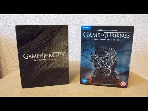 Game Of Thrones: The Complete Series Blu-ray Boxset Unboxing