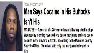 Man Claims Coke In His Butt Is Not His!