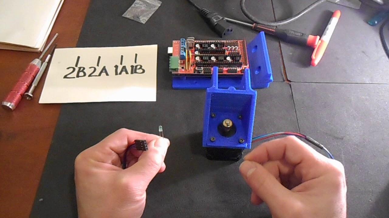 ramps 1 4 nema17 wiring youtube ramps 1 4 wiring diagram reprap ramps 1 4 nema17 wiring