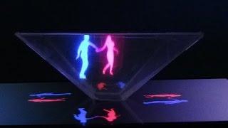 как сделать 3D голограмму TOP 5 Video   3D Hologram Project