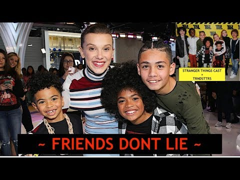 Meeting STRANGER THINGS Cast Millie Bobby Brown Finn Wolfhard Gaten Matarazzo Caleb McLaughlin Sadie