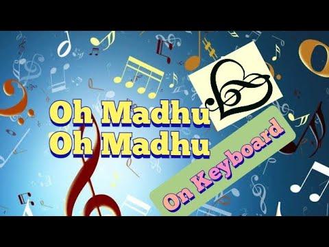 o madhu o madhu song on keyboard from julayi IIAllu arjunII ileanaII Devi sri prasad
