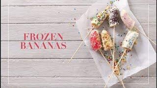 WATCH: Frozen bananas recipe