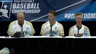 Army Baseball: Postgame Press Conference vs. NC State at Raleigh Regional 6-3-18 thumbnail
