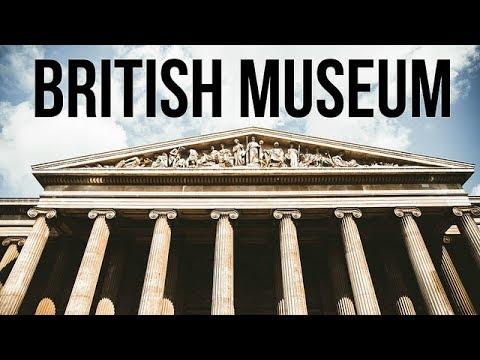 BRITISH MUSEUM + CAMDEN MARKET IN LONDON   EUROPE DAY 10