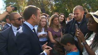 L'opposition s'attaque à Emmanuel Macron après ses propos à l'égard d'un jeune chômeur