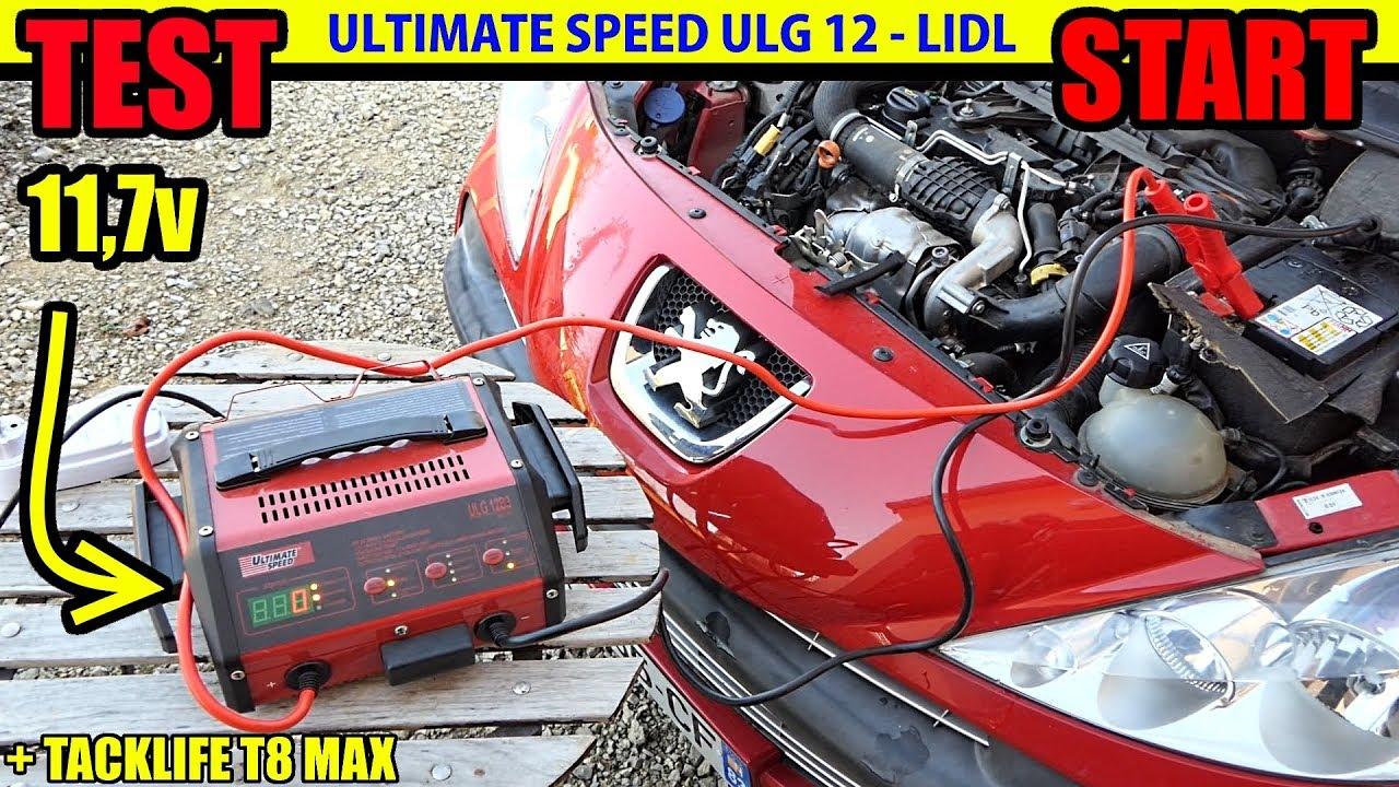 Chargeur de batterie lidl ultimate speed ulg 12 test fo for Caricabatterie lidl ultimate speed