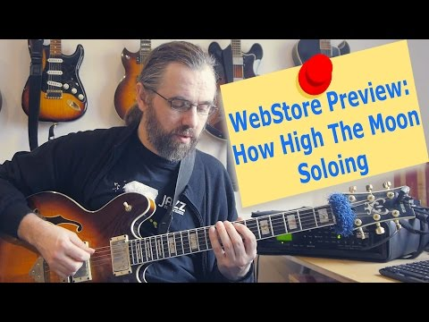 WebStore Preview - How High The Moon Solo Etude