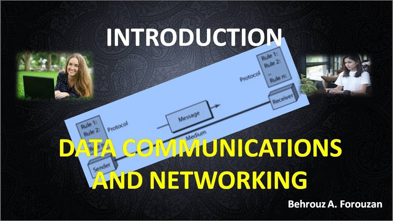 01 Introduction DATA COMMUNICATIONS AND NETWORKING PART 1