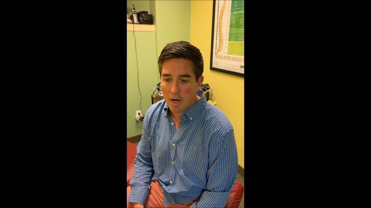 Chiropractic Patient Testimonial
