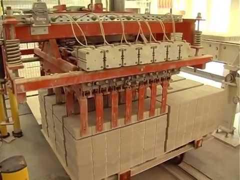 Производство силикатного кирпича / Силикатный завод / Sand Lime Brick Plant