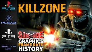 Killzone | Side by Side | PS2 PS3 PCSX2 RPCS3 | FPS Graphics Comparison