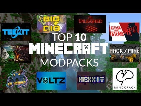Top 10 Minecraft Modpacks 2014 Youtube