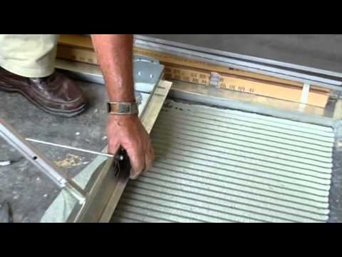 Ultraspreader Floor Tiling With Slate Youtube
