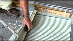 Ultraspreader - floor tiling with slate