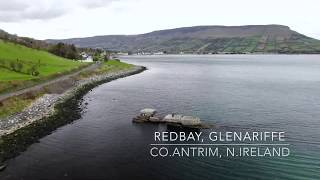 Redbay, Co.Antrim, N.Ireland . Quick Fly around with  DJI Mavic Pro 2