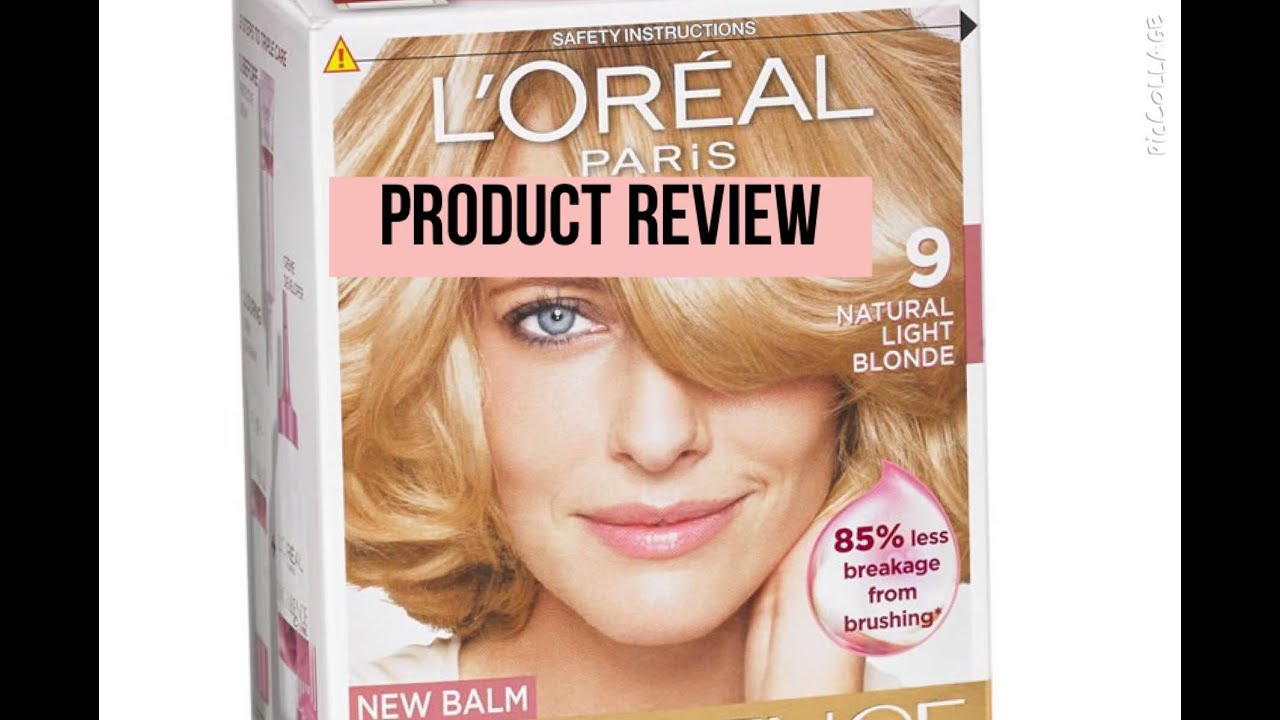 product review loreal paris excellence creme - Coloration Excellence