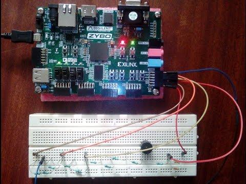Zybo XADC Demonstration: VIVADO and Zynq FPGA Development