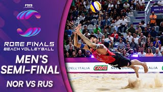 Men's Semi-Final: NOR vs. RUS | Beach Volleyball World Tour Finals Rome 2019