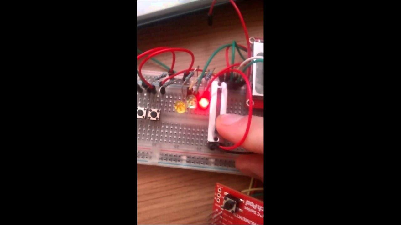 TIVA C series launchpad, pwm, LCD, UART