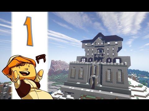 عالم ميمود - كيف تبني بيت أشباح -  الحلقة 1: الواجهة (Creative Minecraft)