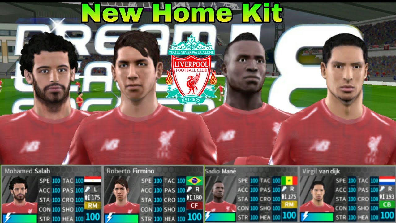 55d0de617 How To Hack Liverpool Team 2018 2019 ○ All Players 100 ○ Dream League  Soccer 2018