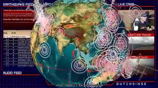 9/25/2018 -- Earthquake activity spreads -- S. Atlantic to Middle East -- US West Coast