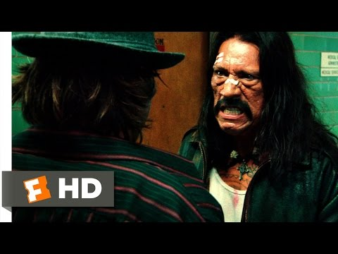 Machete (1/5) Movie CLIP - A Gutsy Jump (2010) HD