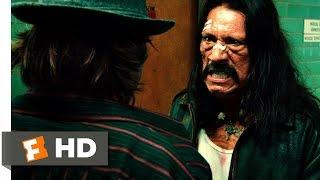 Machete (1/5) Movie CLIP - A Gutsy Jump (2010) HD