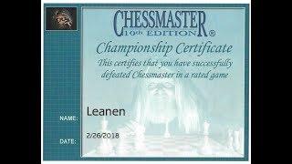 Chessmaster 10th Edition & Leanen Menorti (Black)