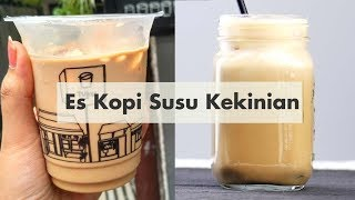 Resep Es Kopi Susu Kekinian CHEAT DAY