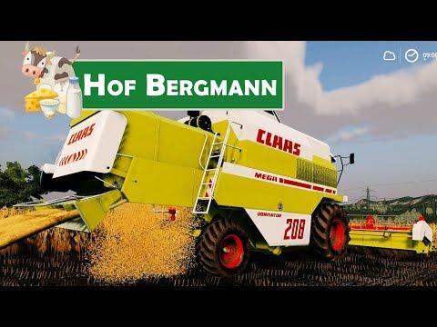 ls19-hof-bergmann-#57:-dreschen-am-morgen-|-landwirtschafts-simulator-19