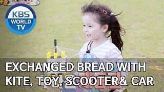 Exchanged bread with a kite, toy, kick scooter and a toy car [The Return of Superman/2019.11.10]