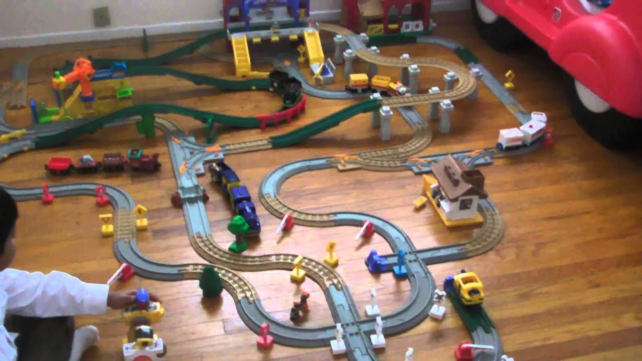 geotrax by fisher price  YouTube