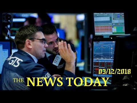 Dow Turns Lower As Industrial Stocks Weigh | News Today | 03/12/2018 | Donald Trump