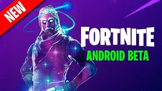 FORTNITE ANDROID BETA NOW AVAILABLE!!! 🔥 TRAILER + EXCLUSIVE SKIN ? Fortnite Mobile PolGames