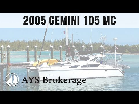 Brokerage - 2005 Gemini 105 MC - by Annapolis Yacht Sales