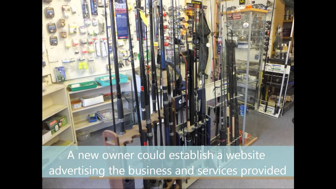 3811 - Fishing Tackle and Bait Shop Business For Sale in Cardiff South  Glamorgan Wales