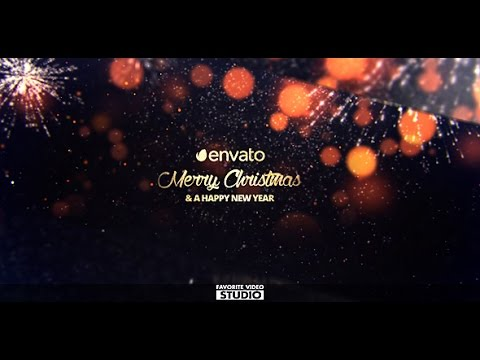Christmas Slideshow After Effects Template  Official Preview  - YouTube