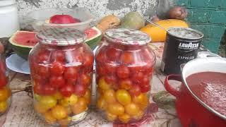 Очень вкусные помидоры в собственном соку- киевляне в глухомани